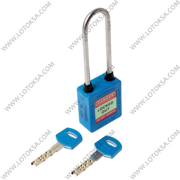 Safety Lockout Padlock: BLUE (LONG)