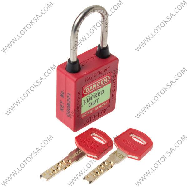 Safety Lockout Padlock RED