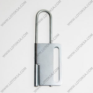 Hasp Steel LONG Shackle Butterfly Type