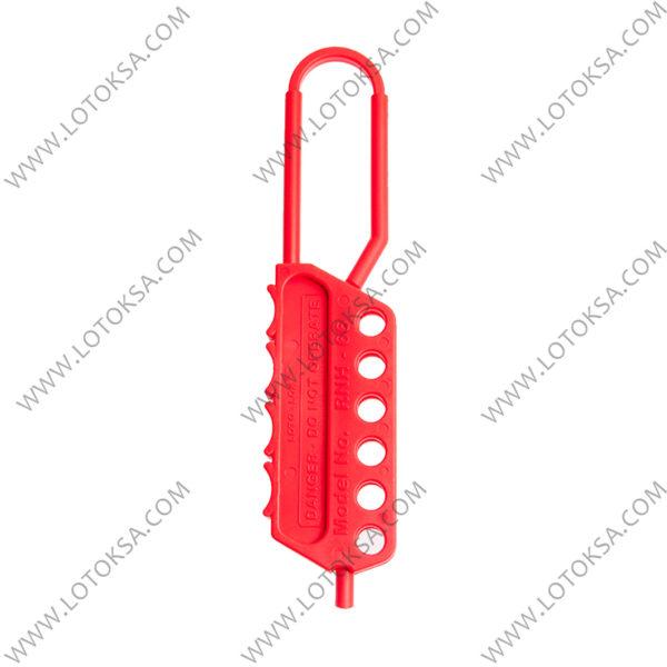 Hasp Nylon 6 lock 6.0mm Shackle