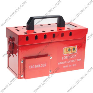 Group Lockout Steel Box