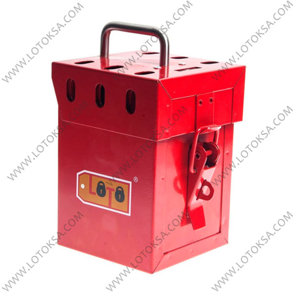Group Lockout Box, 7 Locks