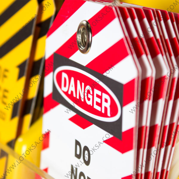 DANGER TAG, PVC with Metal Eyelet